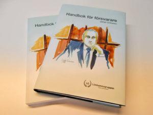 Handbok för försvarare av Johan Eriksson. Limhamnsgruppen 2018.