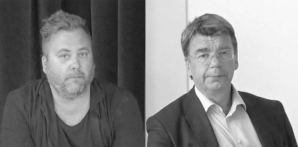 Mårten Schultz och Erik Danhard.